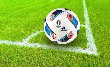 Football Ball Sport Grass Field Soccer Field