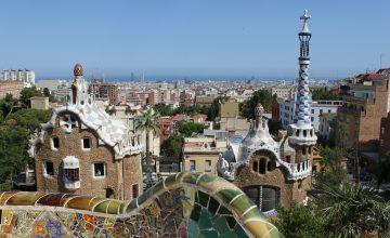 Parc Guell Gaudí Barcelona Spain